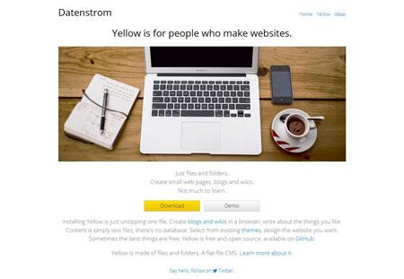 دانلود Yellow CMS – اسکریپت سیستم مدیریت محتوا