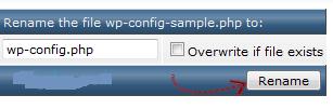 wordpress-config-rename