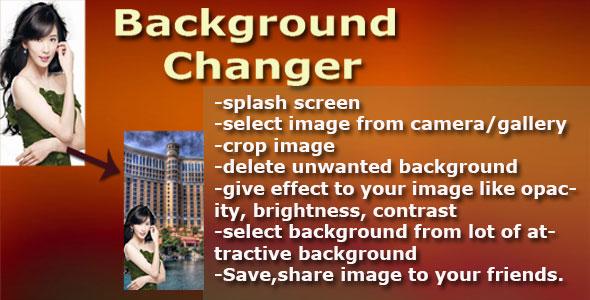 دانلود سورس کد تغییر عکس پس زمینه codecanyon – Photo Background Changer