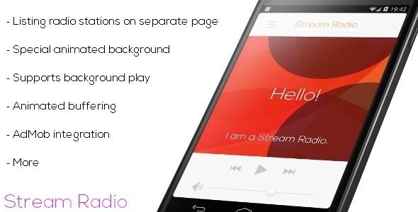 دانلود سورس کد رادیو آنلاین codecanyon – Stream Radio v2 – Multiple Station