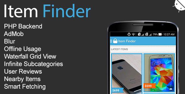 دانلود سورس کد مشابه دیوار اندروید codecanyon – Item Finder MarketPlace Full Android App v1.7.1