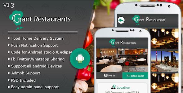دانلود سورس کد سفارش غذا از رستوران codecanyon – Food Delivery System for Restaurant with backend v1.3