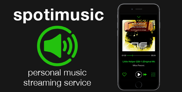 دانلود سورس کد codecanyon – Spotimusic – personal streaming music service