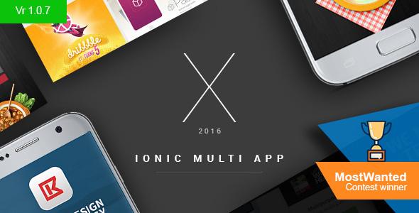 دانلود سورس کد codecanyon – X App – Hand-crafted multiple ionic apps with Laravel backend