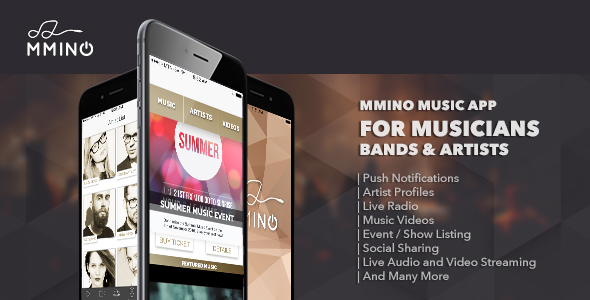 دانلود سورس کد codecanyon – Mmino – iOS Music Band App