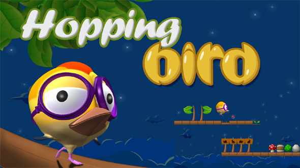 دانلود سورس کد codecanyon – Hopping Bird Game With AdMob