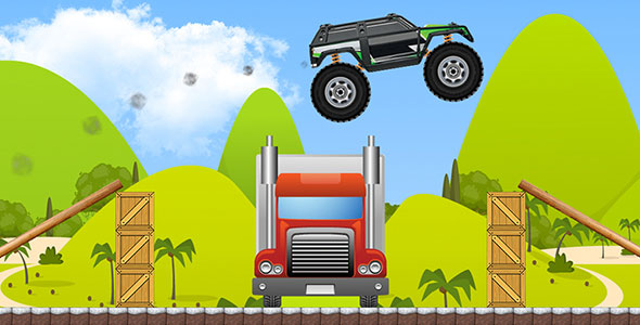 دانلود سورس کد codecanyon – Monster Truck with AdMob and Leaderboard