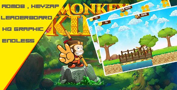 دانلود سورس کد codecanyon – King Monkey – Admob + Leaderboard