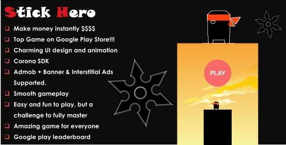 دانلود سورس کد codecanyon – Stick Hero Inc. Leaderboard + Ads