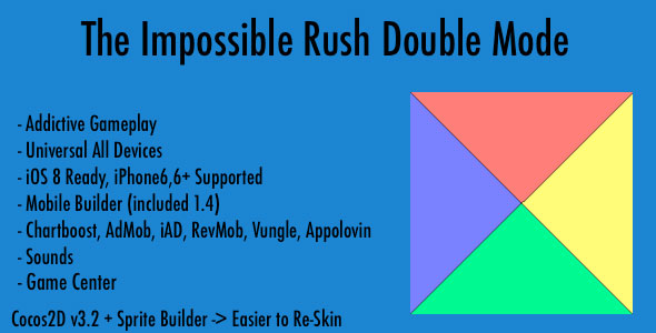 دانلود سورس کد codecanyon – The Impossible Rush Double Mode