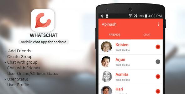 دانلود سورس کد codecanyon – Whatschat – Whatsapp clone