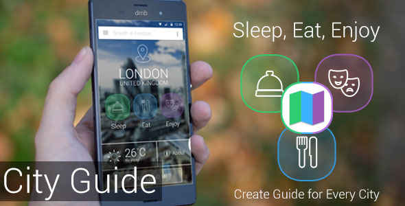 دانلود سورس کد راهنمای شهر codecanyon – City Guide – Sleep, Eat, Enjoy