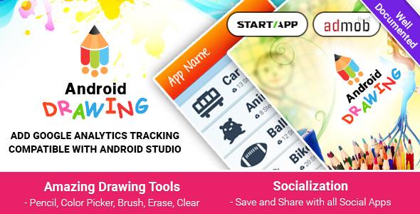 دانلود سورس کد نقاشی اندروید codecanyon – Android Drawing