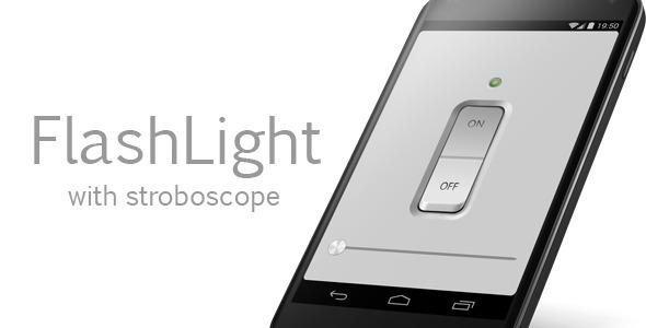دانلود سورس کد چراغ قوه اندروید codecanyon – FlashLight with stroboscope