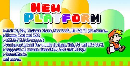 دانلود سورس codecanyon – Platform 2D Game Starter Kit