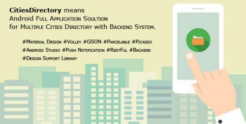 دانلود سورس codecanyon – CitiesDirectory Lets Build Directory App