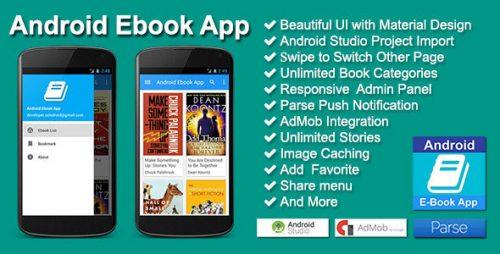 دانلود سورس codecanyon – Android Ebook App