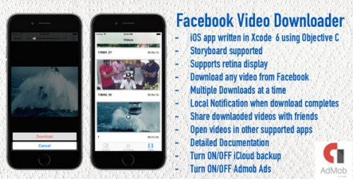 دانلود سورس codecanyon – Facebook Video Downloader