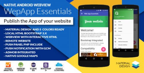دانلود سورس codecanyon – Native Web App Essentials