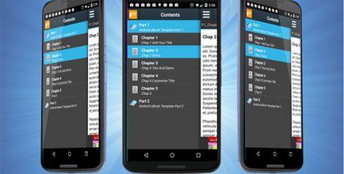 دانلود سورس codecanyon – Android eBook Template with Admob