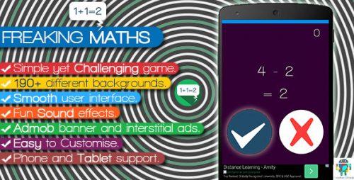 دانلود سورس codecanyon – Freaking Math