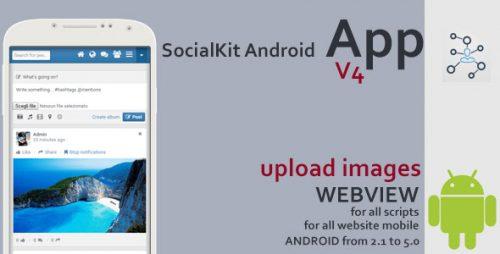 دانلود سورس codecanyon – SocialKit Android App