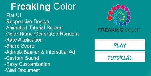 دانلود سورس بازی codecanyon – Freaking Color