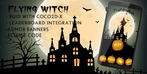 دانلود سورس codecanyon – The flying witch – Admob