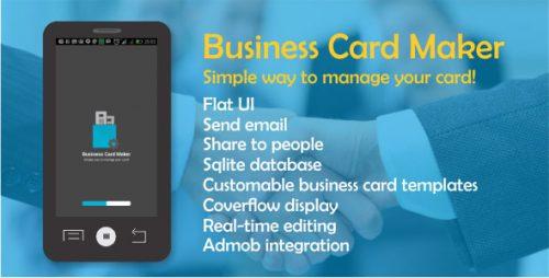 دانلود سورس codecanyon – Business Card Maker with Admob