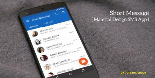 دانلود سورس Short Message – Android SMS App