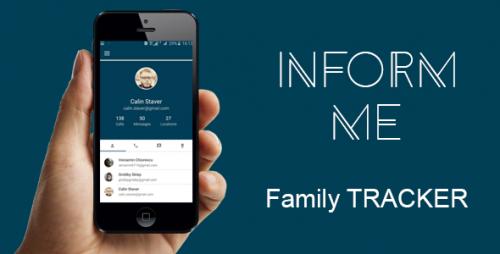 دانلود سورس کنترل کودکان اندروید codecanyon – Inform me – Family Tracker