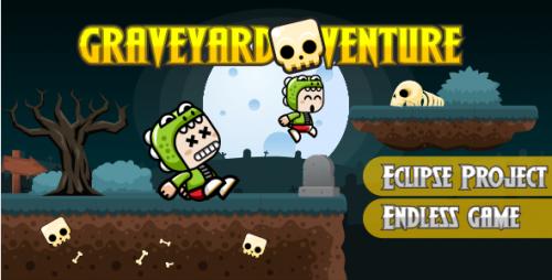 دانلود سورس کد Graveyardventure – Android & IOS Project – Buildbox Include