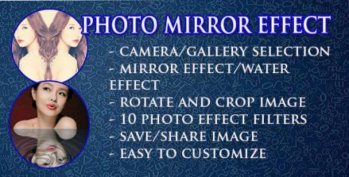 دانلود سورس کد افکت تصاویر اندروید codecanyon – Photo Mirror Effect