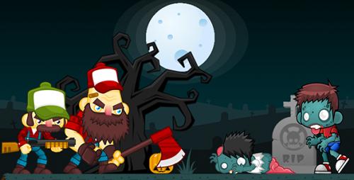 دانلود سورس codecanyon – Zombies Hunter 2 AdMob