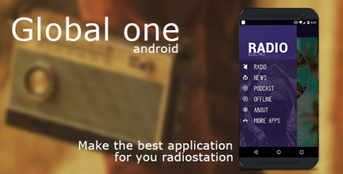 دانلود سورس codecanyon – Global (single station) Android