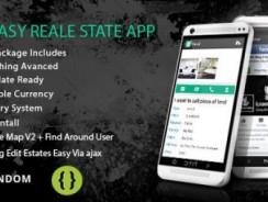 دانلود سورس codecanyon – Easy Real Estate App – come with admin panel
