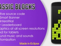 دانلود سورس codecanyon – Classic Blocks with AdMob and Leaderboard