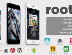 دانلود سورس Roots – PhoneGap/Cordova Multi-Purpose Hybrid App