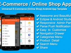 دانلود سورس فروشگاه codecanyon – E-Commerce / Online Shop App
