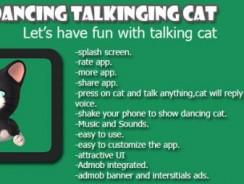 دانلود سورس codecanyon – Talking Dancing Cat Android App