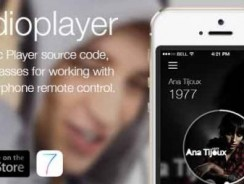دانلود سورس Audioplayer – Works with apple earphone remote