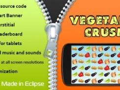 دانلود سورس codecanyon – Vegetable Crush with AdMob and Leaderboard