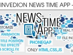 دانلود سورس codecanyon – News Time App With CMS – iOS