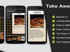 دانلود سورس codecanyon – Take Away App