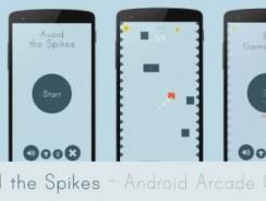 دانلود سورس Avoid the Spikes – Android Arcade Game