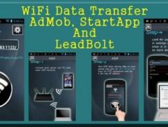 دانلود سورس Wifi Data Transfer – AdMob, StartApp and LeadBolt