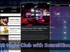 دانلود سورس کد codecanyon – iOS Night Club/Bar with SoundCloud