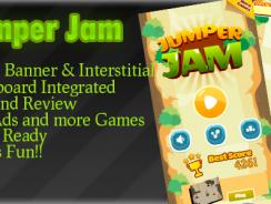 دانلود سورس کد codecanyon – Jumper JAM Admob + Leaderboard + Powerups + Endless