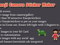 دانلود سورس کد افزودن شکلک های زیبا به عکس codecanyon – Emoji Camera Maker