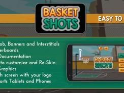 دانلود سورس کد بازی بسکتبال  اندروید codecanyon – Basket Shots – HD Basketball Game Template